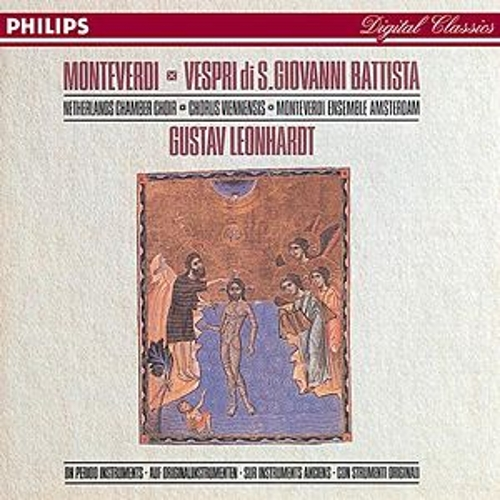 Monteverdi: Vespri di S. Giovanni Battista (reconstr. Frits Noske) by Various Artists