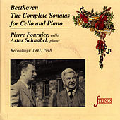 Beethoven: The Complete Sonatas for Cello and Piano by Pierre Fournier