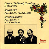Schubert & Mendelssohn: Piano Trios by Alfred Cortot