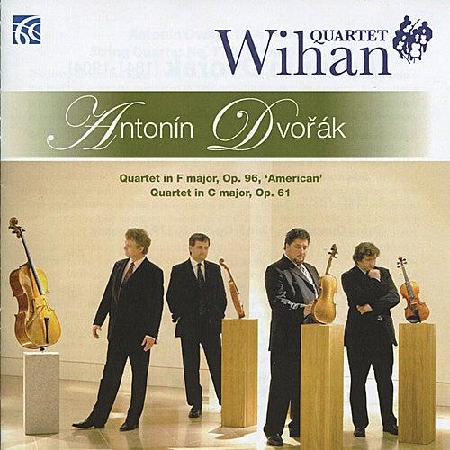 Antonin Dvořák: Quartet in F Major, Op. 96, 'American' & Quartet in C Major, Op. 61 by Wihan Quartet