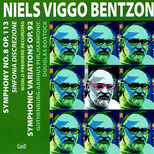 Bentzon: Symphony No. 8 / Symphonic Variations by Douglas Bostock