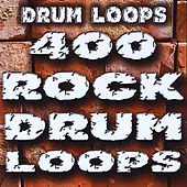 400 Huge Rock Drum Loops by Drum Loops
