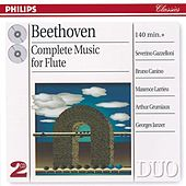 Beethoven: Complete Music for Flute by Various Artists