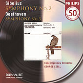 Beethoven: Symphony No.5 / Sibelius: Symphony No.2 by Royal Concertgebouw Orchestra