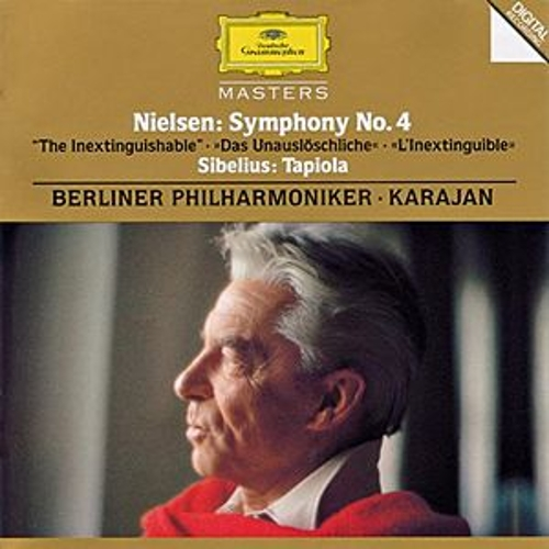 Nielsen: Symphony No.4 'The Inextinguishable'/ Sibelius: Tapiola, Op. 112 by Berliner Philharmoniker