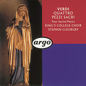 Verdi: Four Sacred Pieces; Pater Noster by Choir of King's College, Cambridge