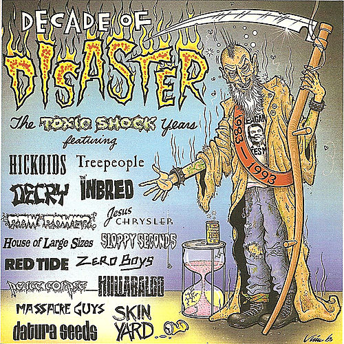 Decade of Disaster - The Toxic Shock Years by Various Artists