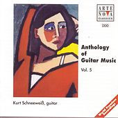 Anthology Of Guitar Music Vol. 5 by Kurt Schneeweiss