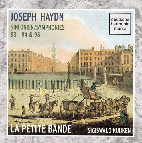 Haydn - Sym. 93, 94 & 95 by Sigiswald Kuijken