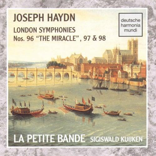 Haydn: Sym. 96, 97, 98 by Sigiswald Kuijken