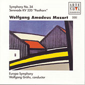 Mozart: Symphony No.34/Posthornserenade by Wolfgang Gröhs
