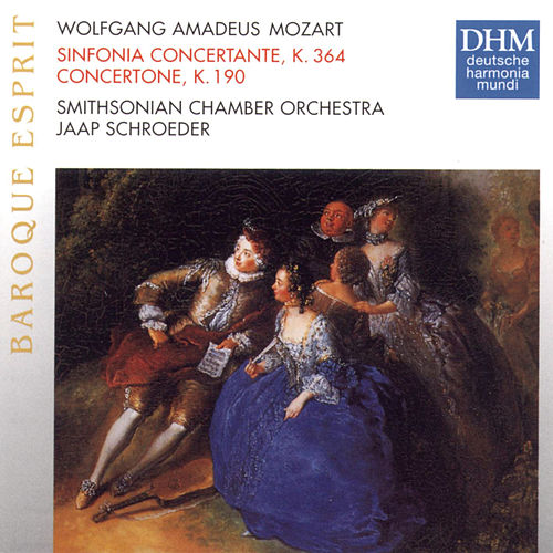 Mozart: Sinfonia Concertante by Smithsonian Chamber Orchestra