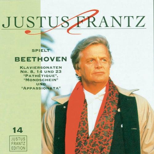 Justus Frantz spielt Beethoven: Klaviersonaten No. 8, 14 und 23 by Justus Frantz