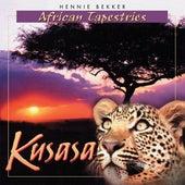 African Tapestries - Kusasa by Hennie Bekker