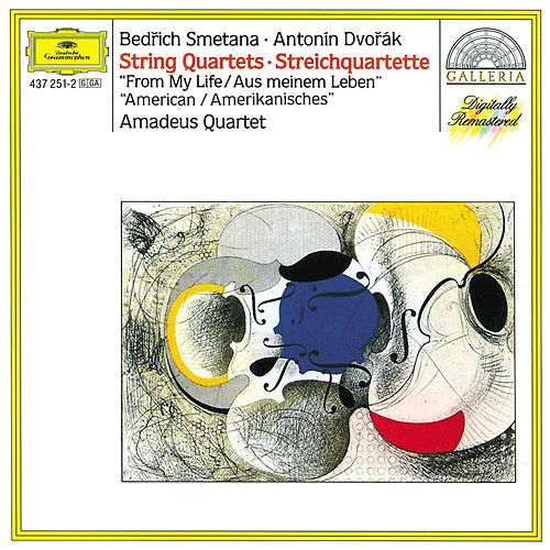 Smetana: String Quartett No.1 'From My Life' / Dvorák: String Quartett No.12 'American' by Amadeus Quartet