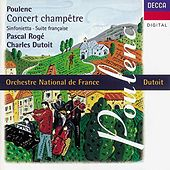 Poulenc: Concert champêtre/Suite française/Sinfonietta etc. by Various Artists