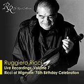 Violin Recital: Ricci, Ruggiero - Bach, J.S. / Beethoven, L. Van by Various Artists