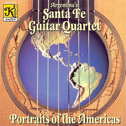 Copland: 3 Latin American Sketches (Excerpts) / Piazzolla: 3 Modern Tangos / 2 Seasons by Santa Fe Guitar Quartet
