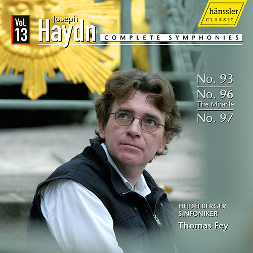 Haydn: Symphonies, Vol. 13 by Thomas Fey