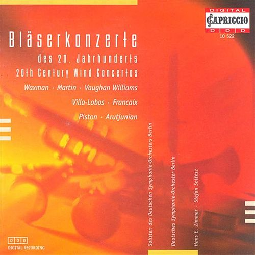 Vaughan Williams, R.: Bass Tuba Concerto in F Minor / Francaix, J.: Quadruple Concerto / Waxman, F.: Athaneal (20Th Century Wind Concertos) by Various Artists