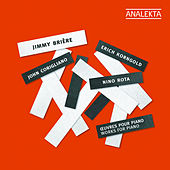 Corigliano, Rota, Korngold: Works for Piano by Jimmy Brière
