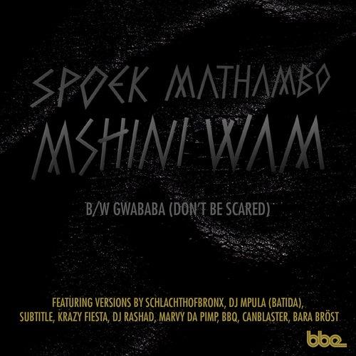 Mshini Wam b/w Gwababa by Spoek Mathambo