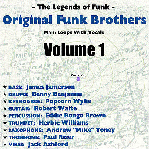 Original Funk Brothers Main Loops Vol. 1 by The Funk Brothers