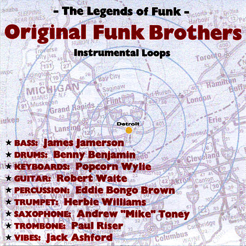 Original Funk Brothers Instrumental Loops by The Funk Brothers