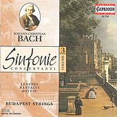 Bach, J.C.: Sinfonie Concertanti, Vol. 3 by Various Artists