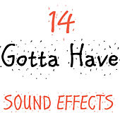 14 Gotta Have Sound Effects by Sound Effects