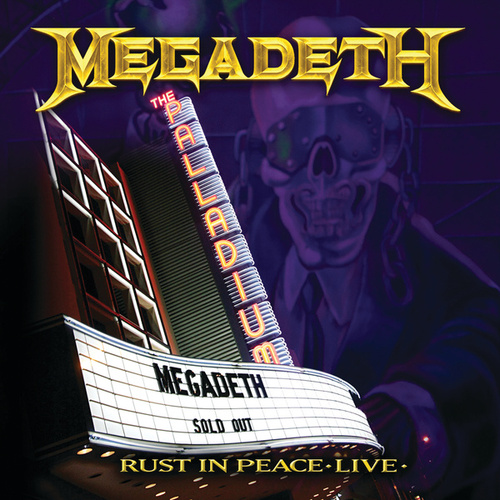Rust In Peace Live by Megadeth