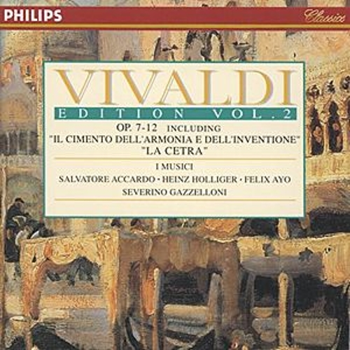 Vivaldi Edition Vol.2 - Op.7-12 by Various Artists