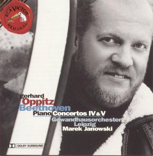 Beethoven: Piano Concertos Nos. 4 & 5 von Gerhard Oppitz