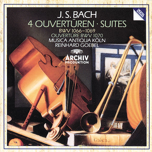 Bach, J.S.: Overtures and Suites by Musica Antiqua Köln