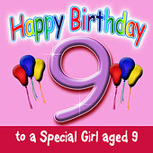 Happy Birthday (Girl Age 9) by Andy Green