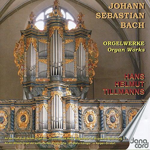 Bach: Orgelwerke (Organ Works) by Hans Helmut Tillmanns