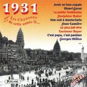 1931 : Les chansons de cette année-là (20 succès) by Various Artists