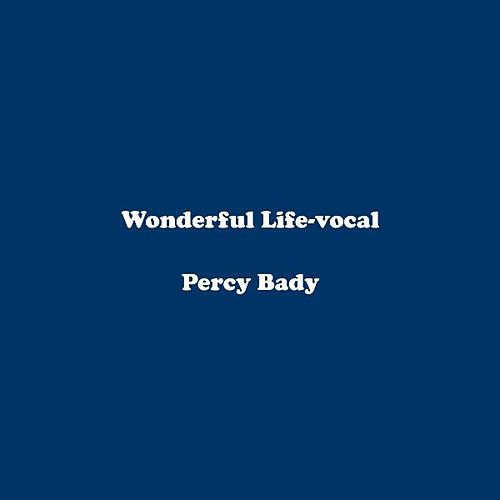 Wonderful Life-vocal by Percy Bady