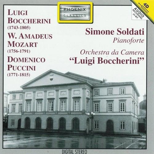 Luigi Boccherini, Wolfgang Amadeus Mozart, Domenico Puccini by Luigi Boccherini