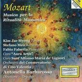 Mozart: Musica per la ritualità Massonica by Kim Jae Myong, Stefano Meo, Fabio Falsetta, Antonella Barbarossa