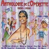 Anthologie de l'opérette, vol. 2 (1900-1926) by Various Artists