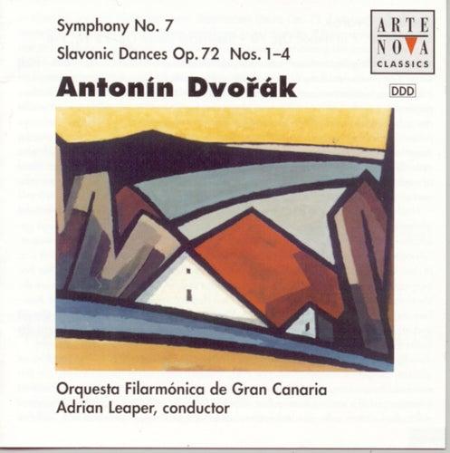 Dvorak: Symphony No. 7/Slavonic Dances op.72 by Adrian Leaper