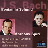 Bach, J. S.: 6 Sonatas for Violin and Harpsichord by Various Artists