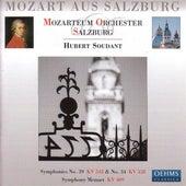 Mozart: Symphonies Nos. 34 and 39 / Menuet in C Major by Hubert Soudant