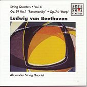 Beethoven: String Quartets Vol. 4 by Alexander String Quartet
