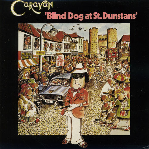 Blind Dog at St.Dunstans by Caravan