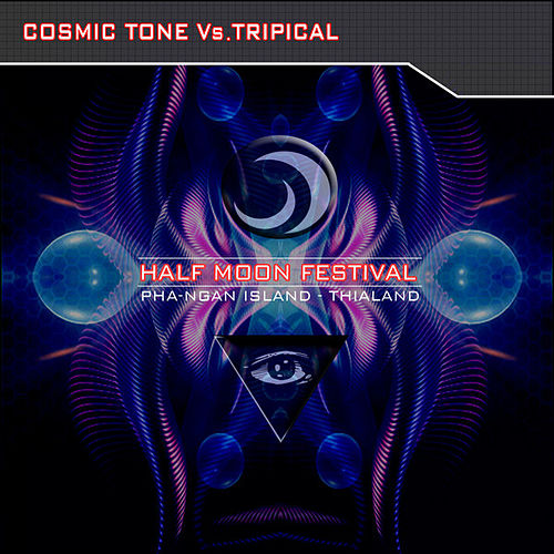 Half Moon Festival – PhaNgan Island – Thailand Vol.2 - Cosmic Tone Vs. Tripical by Various Artists