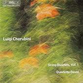 Cherubini: String Quartets Nos. 1 in E Flat Major and 2 in C Major by David Quartet