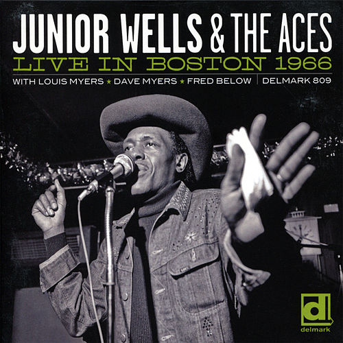 Live in Boston 1966 by Junior Wells