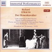 Strauss, R.: Rosenkavalier (Der) (Lehmann / Stevens) (1939) by Various Artists